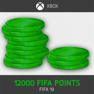 12000 fifa points fifa 19 Xbox One
