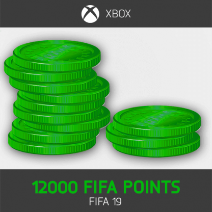 12000 fifa points fifa 19 Xbox One