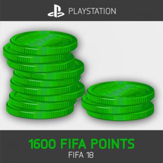 1600 FIFA Points Playstation FIFA 18