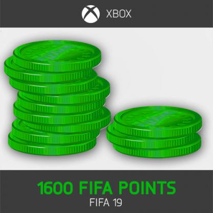 1600 fifa points fifa 19 XBOX ONE