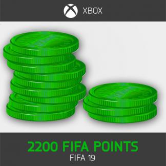 2200 fifa points fifa 19 Xbox One