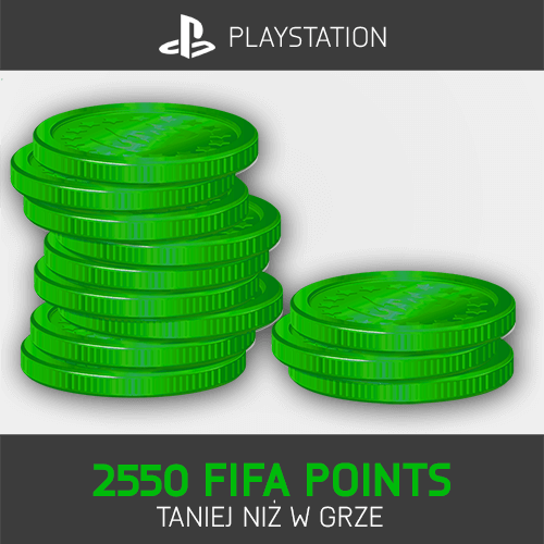 2550 FIFA Points Playstation