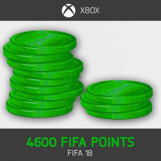 4600 FIFA Points Xbox FIFA 18