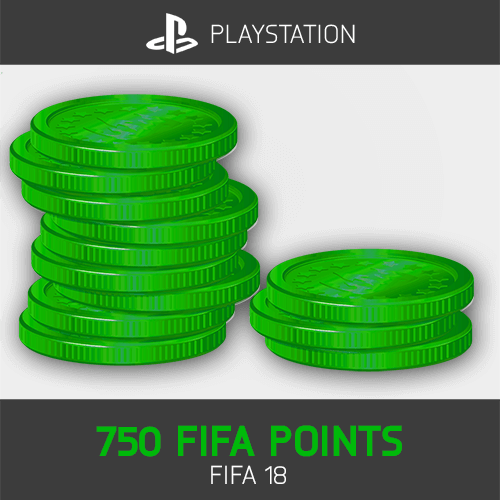 750 FIFA Points Playstation FIFA 18
