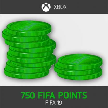 750 fifa points fifa 19 XBOX ONE
