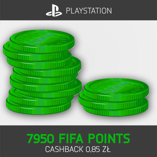 7950 FIFA Points Playstation