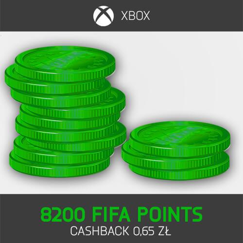 8200 FIFA Points Xbox