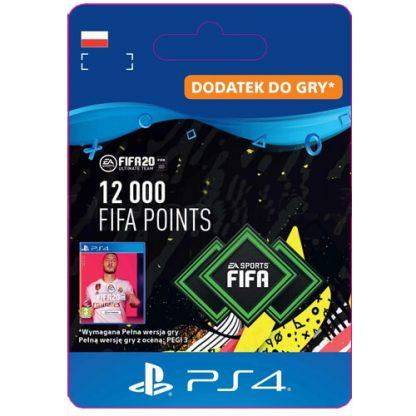 FIFA 20 12000 FIFA Points PS4