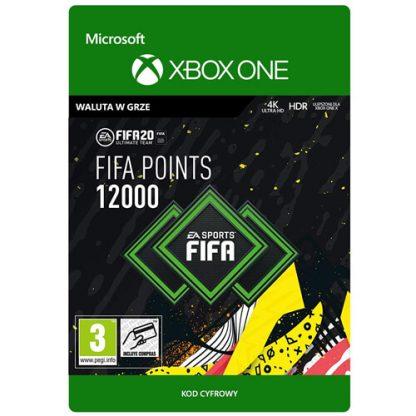 FIFA 20 12000 FIFA Points Xbox One