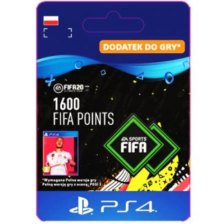 FIFA 20 1600 FIFA Points PS4