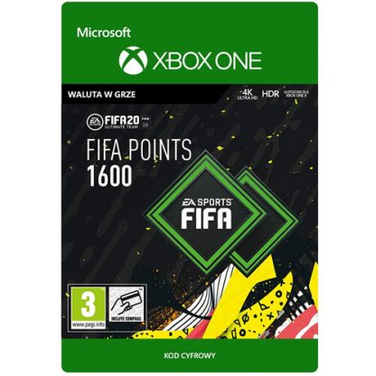 FIFA 20 1600 FIFA Points Xbox One