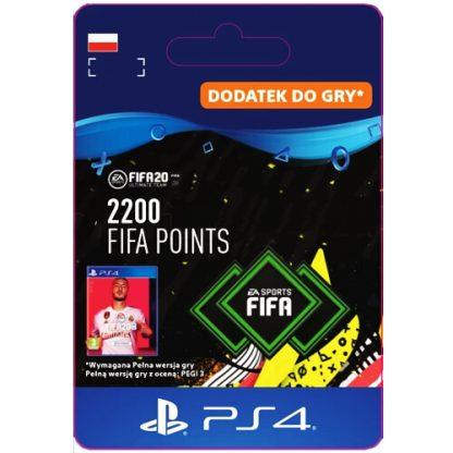 FIFA 20 2200 FIFA Points PS4