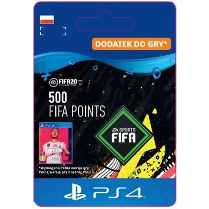 FIFA 20 500 FIFA Points PS4