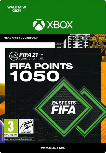 fifa 21 1050 fifa points