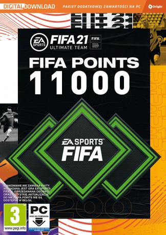 fifa 21 11000 fifa points pc