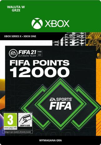 fifa 21 12000 fifa points