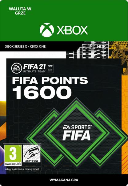 fifa 21 1600 fifa points