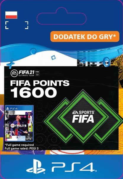 fifa 21 1600 points