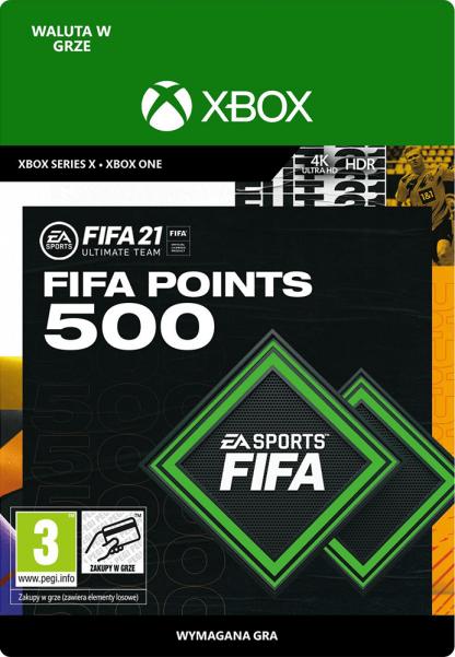 fifa 21 500 fifa points