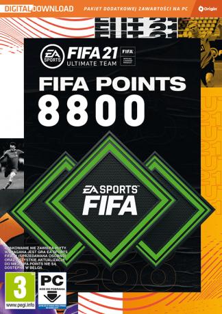 fifa 21 8800 fifa points pc
