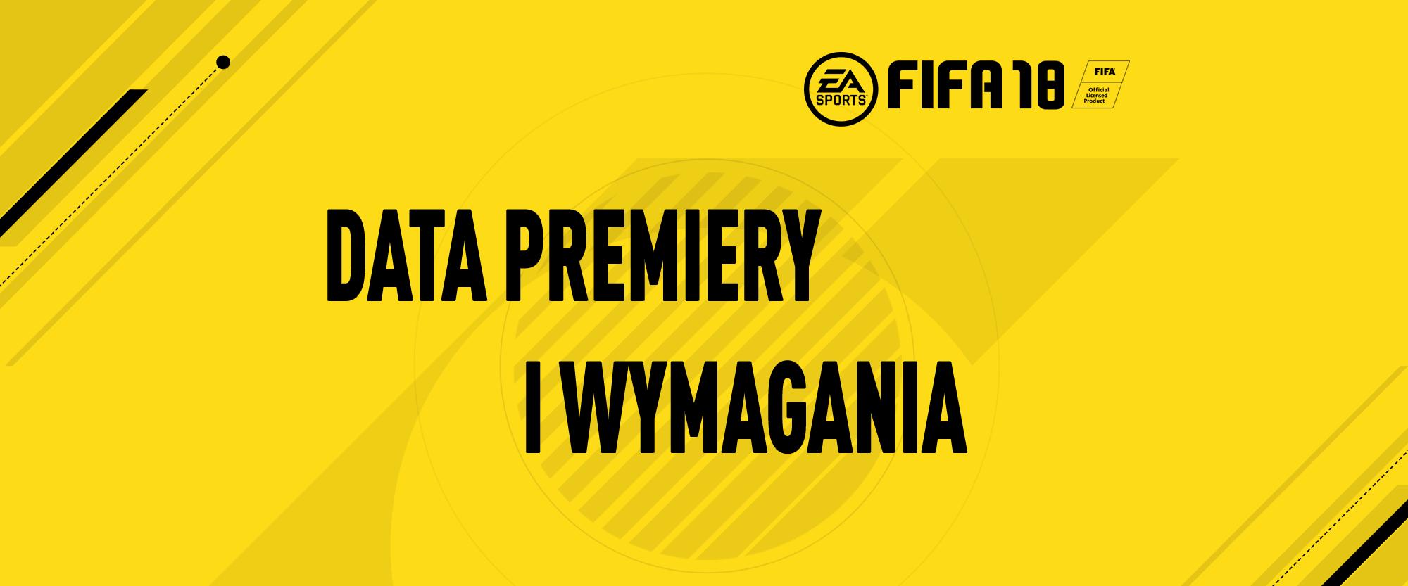 FIFA 18 wymagania