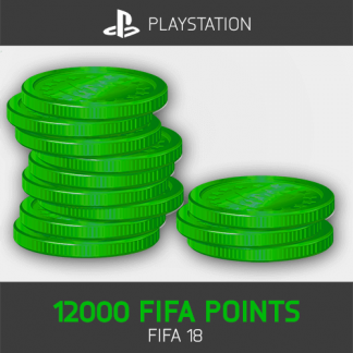 12000 FIFA Points Playstation FIFA 18