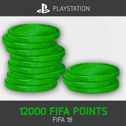 12000 FIFA Points Playstation FIFA 18