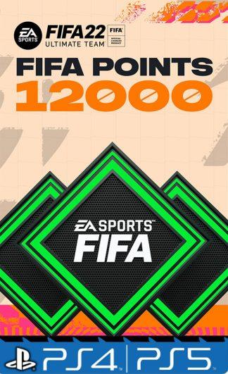 12000 Fifa points 22 Playstation