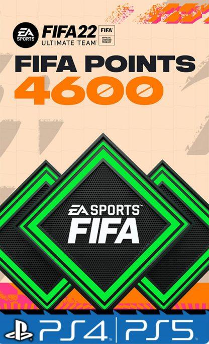4600 Fifa points 22 Playstation