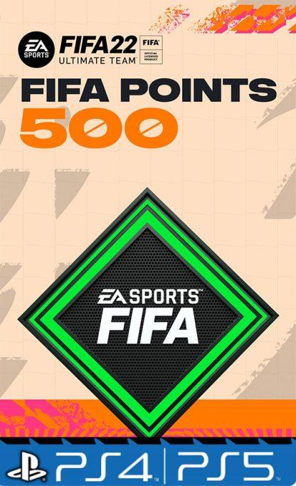500 Fifa points 22 Playstation