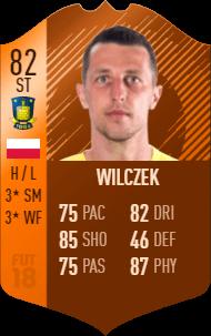 Wilczek FIFA 18 MOTM