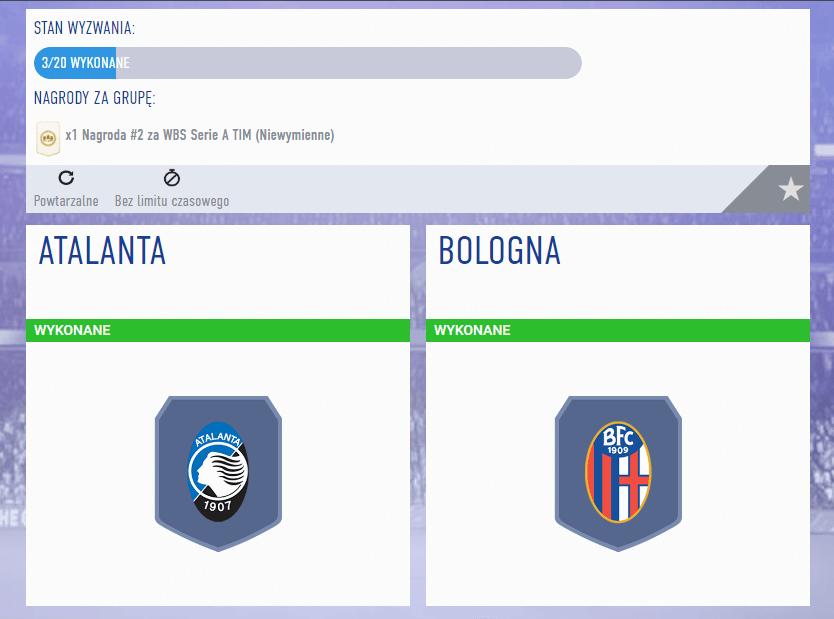 SBC ligi FIFA 19